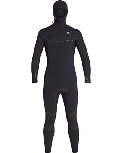 Billabong Mens Furnace Ultra 5/4mm Hooded Chest Zip Wetsuit Black