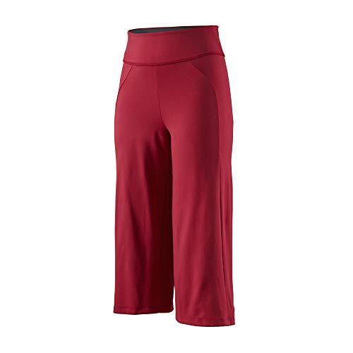Patagonia W Stem GEM Rock Crops rood, dames 3/4-broek, maat S - kleur roomrood