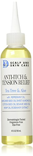 Design Essentials Scalp & Skin Care Anti-itch & Tension Relief, Tea Tree & Aloe, 4 Oz