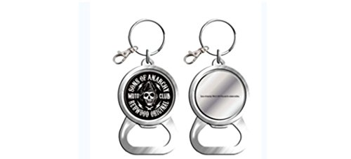 Sons of Anarchy Logo Bottle Opener Keychain