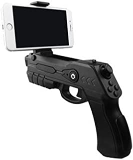 Xplorer Blaster Pistola de Juego de Realidad Aumentada AR Game Gun con Bluetooth para Smartphones iOS y Android (Negro)