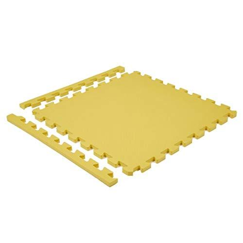 Suelo goma eva o puzle suelo bebé. 60x60, espesor 10 mm, total 2,22 m2. Útil como alfombra puzle de goma eva. Pack 6 losetas.