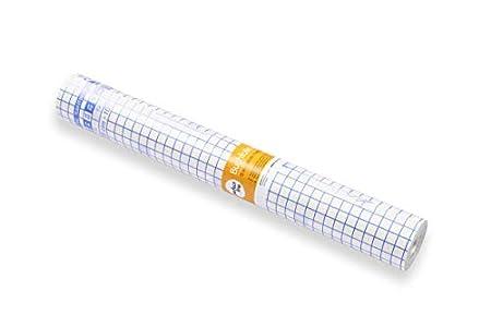 perfect line lámina protectora para libros, 15 m x 40 cm, funda adhesiva transparente, traslúcida, autoadhesiva, lámina para envolver en rollo, forro bonito y resistente para libros y cuadernos