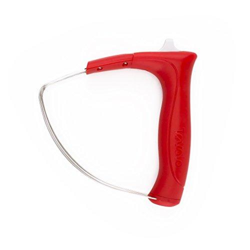 Tovolo Batidora de repostería de mano, fácil de limpiar, apto para lavavajillas, 1 EA, color rojo