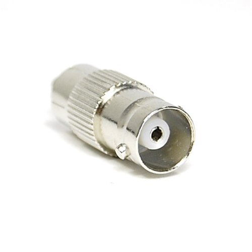 Bluecell 10 Pack RCA Female Plug to BNC Male Jack Adapters+10 BNC Female to RCA Male Jack Adapters