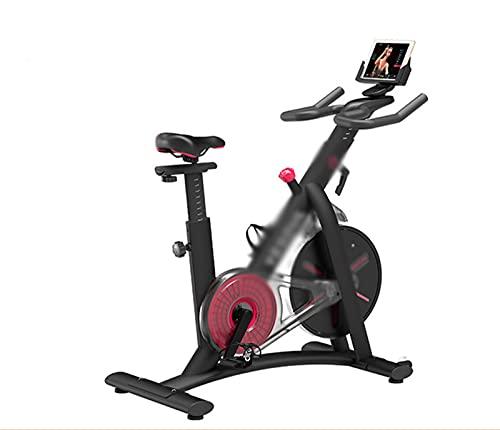 CJDM Bicicleta giratoria, Equipo de Gimnasio para Ejercicios en el hogar, Bicicleta estática de magnetrón para Interiores, Equipo de Ejercicio de Empresa Ultra silencioso, tamaño: 101 * 51 * 116,5 cm