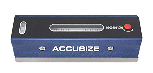 Accusize Industrial Tools 6 inch Master Precision Level in Fitted Box, Accuracy 0.0002