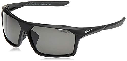NIKE Traverse P EV1043 Gafas de sol, Negro (Matte Black/Polarized Gre), 65.0 para Hombre