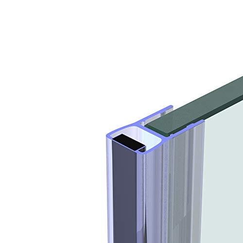 Duschdichtung 200 cm - für 8 mm Glas - Magnet Dichtung Wasserabweiser Ersatzdichtung Duschprofil Duschtürdichtung Lippe. In unserem Shop finden Sie alle gängigen Formen für 6-10mm Glas.