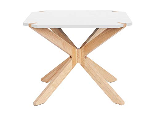 Present Time - Table d'appoint Blanc Large Mister X