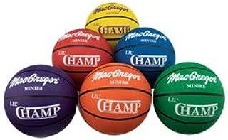 MacGregor Lil Champ - Balón de baloncesto (6 unidades): Amazon.es ...