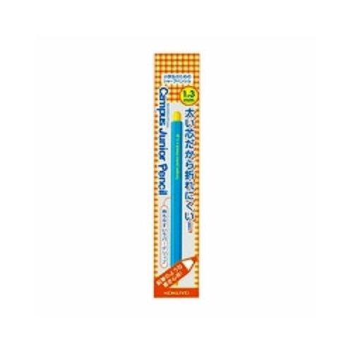 コクヨ キャンパス ジュニアペンシル 1.3mm 青 PS-C101B-1P 『 2本』