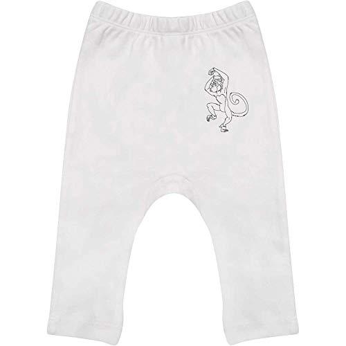 Azeeda 6-12 Monate 'Frechdachs' Baby Leggings / Hosen / Jogger (BE00017401)