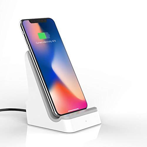 Base De Carga Inalámbrica Qi iPhone XS, XS MAX, XR, X, 8, 8, Samsung Galaxy S9, S9, Note9