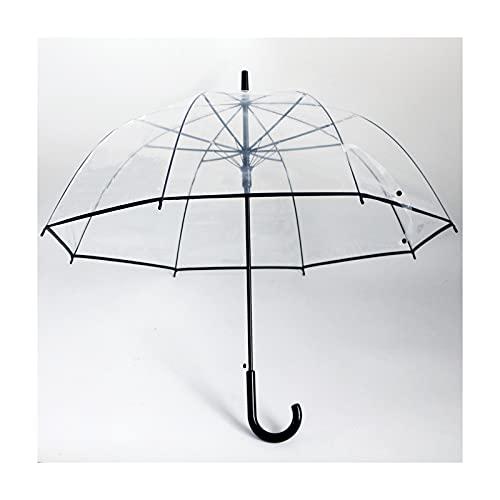 DTKJ 10 stücke 23inch Poe Transparente Birdcage-Regenschirm Werbe-Regenschirm, Logo kann angepasst Werden