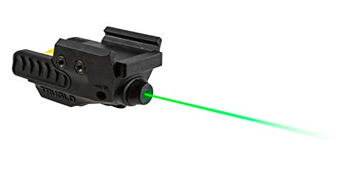 TRUGLO Sight-Line Handgun Laser Sight for Picatinny, Weaver, or Pistol Rail Mount, Green Laser