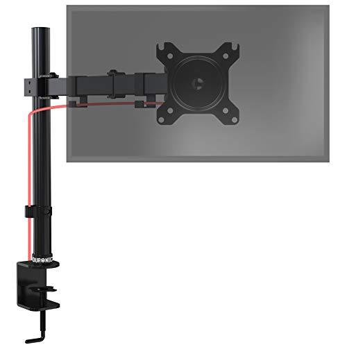 Duronic DM151X3 Monitorhalterung | Tischhalterung | Bildschirmhalterung | Monitorständer für einen LCD/LED Computer Bildschirm | Höhenverstellbar | VESA max. 100 x 100 mm| Stahlstruktur | 8kg pro Arm