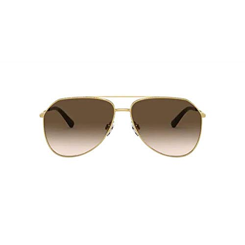 Dolce & Gabbana Gafas de Sol SLIM DG 2244 GOLD/BROWN SHADED 59/13/140 mujer