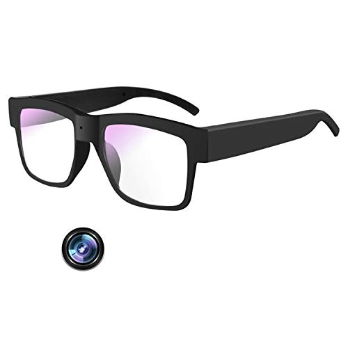 Camera Glasses 1080P,Video Glasses Full HD Recording Camera for Indoor & Outdoor,Record The Scene or Dash Cam(Built-in 32G Micro Sd Card)