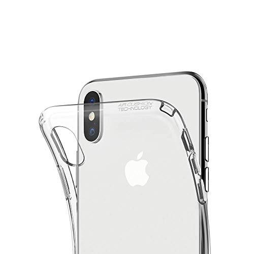 """Capa para Iphone Xs Max 6.5"""" Polegadas, Cell Case, Capa Protetora Flexível, Transparente"""