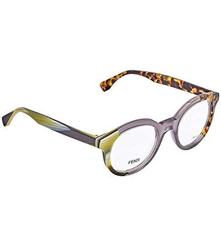 Fendi FF 0067 NER/21 -47 -21 -140 Fendi Brillengestelle FF 0067 NER/21 -47 -21 -140 Rund Brillengestelle 47, Mehrfarbig
