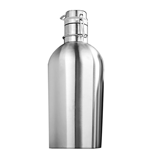 Botellas De Agua Acero Inoxidable 2 Litros Marca LOVIVER