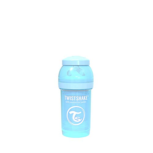 Twistshake 78250 - Biberón, color pastel azul