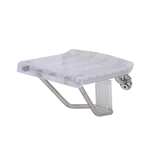 Why Choose LXJY Shower Chair Elegant Bathroom Mobile Assist | Wall-Mounted Folding Shower seat Foldi...