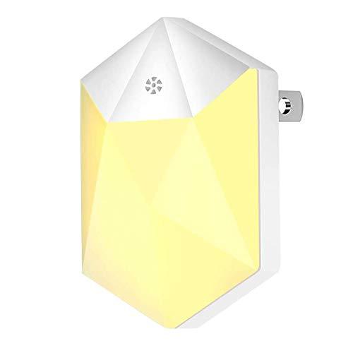 Chenjia Luces de noche de enchufe para niños, sensor de luz LED luz nocturna con atardecer a DAWN Sensor para cuartos de baño Baños de enfermería Escalera de pasillos de enfermería Sala de estar Cocin