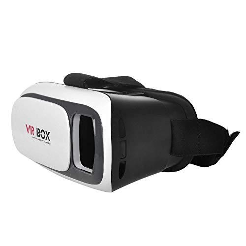 Craftphono VR-Brille für alle Smartphones bis 6 Zoll Apple iPhone 7/8 / 8+ / X/XS/Xr/X max Samsung Galaxy S7 / S8 / S9 / S9+