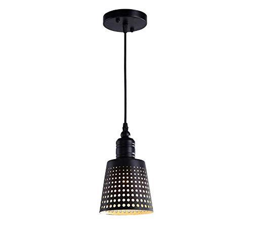 Lámpara de techo-proyector-lámpara Techo de vidrio/Lámpara/Lámpara colgante / 2017 NUEVA edición/Alegre/Diseño/Creativo/Altura Lámpara colgante ajustable (interior blanco exterior negro)