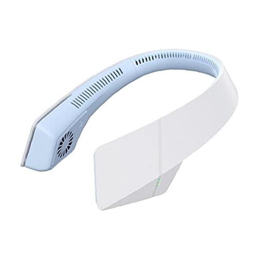 Eaarliyam Suspendu Ventilateur Coulissant Ventilateur Portable Feuillet de Refroidissement Silencieux Mains Libres climatiseur Bleu