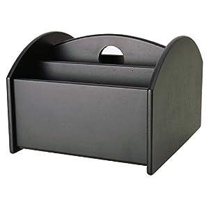 CORDAYS - Organizador de Mandos a Distancia y Material de Oficina o Herramientas de Trabajo Caja para Mandos a Distancia - Hecho a Mano- Color Marrón CDM-00031: Amazon.es: Hogar
