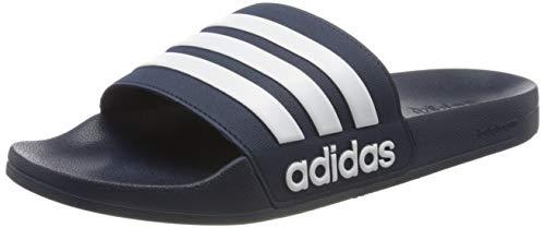 adidas Herren ADILETTE SHOWER Flipflop, Blau, 43 EU