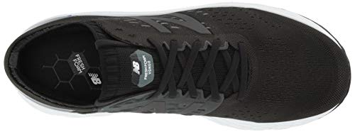 New Balance Men's Fresh Foam Vongo V4 Running Shoe, Black/Black Metallic, 10 M US