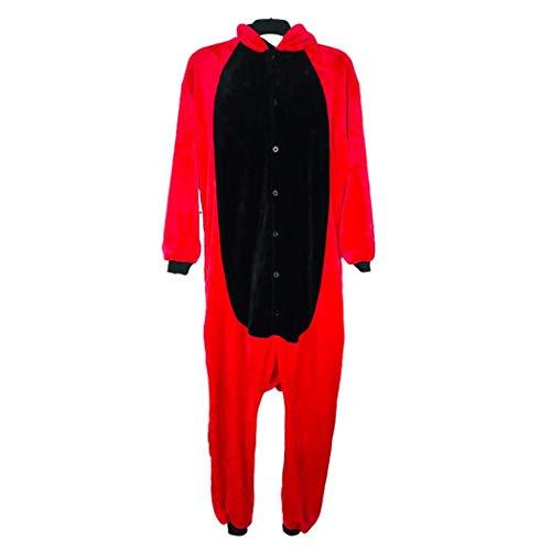 qazxsw Onesies Pijamas de una Pieza para Adultos Minions Mono Unisex Disfraz de Halloween Onesie