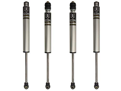 Icon 2.0 Internal Reservoir Shocks Set for 03-12 Dodge Ram 2500 4WD w/2.5' lift