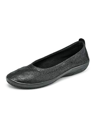 Avena Damen Hallux-Soft-Slipper Night&Day Schwarz Gr. 36