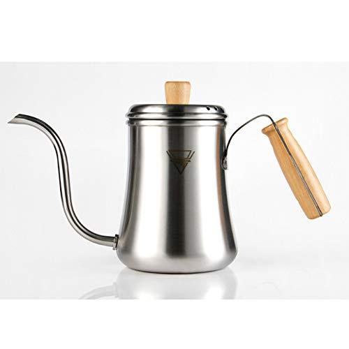 Pote del té de la caldera de goteo del café de acero de Strainless 304 900ml
