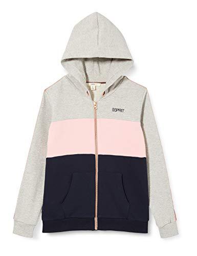 ESPRIT Mädchen Sweatjacke Sweatshirt, medium Grey 5|Gray, L-164