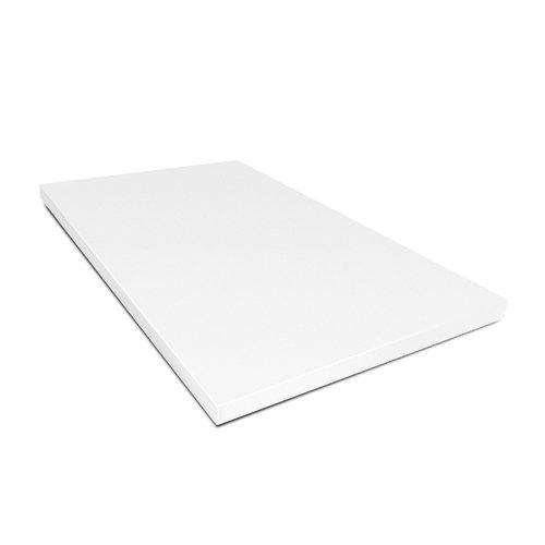 Kesper HACCP 30151 Planche à découper en plastique 53 x 32,5 x 1,5 cm Blanc