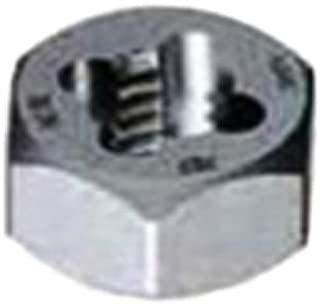 Gyros 92-92025 Metric Carbon Steel Hex Rethreading Die, 20mm x 2.50 Pitch