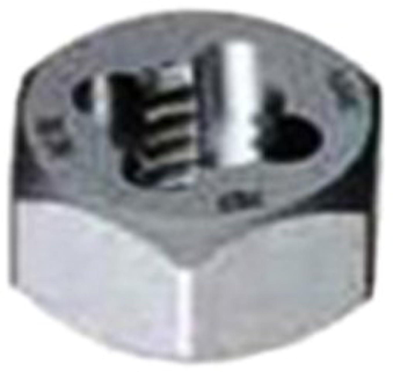 Gyros 92-91620 Metric Carbon Steel Hex Rethreading Die, 16mm x 2.00 Pitch