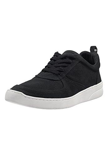 MELAWEAR Damen Sneaker - Nachhaltig mit Fairtrade Cotton, GOTS & Grüner Knopf Zertifizierung, Farbe :schwarz, Größe :37