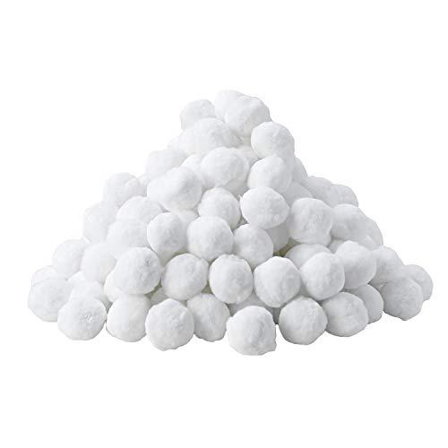 MVPower Filterbälle, Quarzsand Filter Balls, 700g Alternative für 25kg Filtersand, Filteranlagenzubehör, für Pool Glas-und Sandfilteranlage, Tolle Filterwirkung,Umweltfreundlicher Ersatz, Langlebig