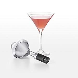 OXO SteeL Fine Mesh Cocktail Strainer, 3-inch,Stainless Steel |
