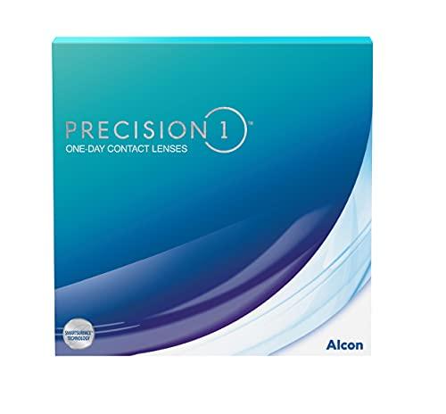 PRECISION1 Ein-Tages-Kontaktlinsen, 90 Stück, BC 8.3 mm / DIA 14.2 mm / -1.50 Dioptrien
