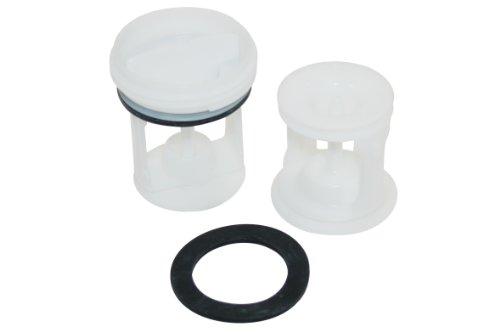 Ariston hotpoint Indesit Machine à laver Scholtes numéro de pièce c00141034 Véritable kit de filtre.