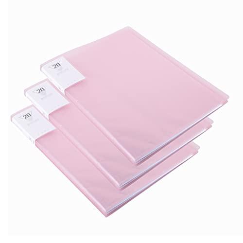 Lhl 40 Tasche A4 Thin Folder, organizzatore di Cartella di Fisarmonica espandibile Grande Portata Portatile, Ufficio, Sacchetto di archiviazione Cartella per Studenti Etichetta
