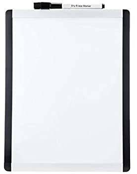 Amazon Basics Magnetic Dry Erase Board plastic/aluminum frame 8.5 x 11 Inch 6 pack